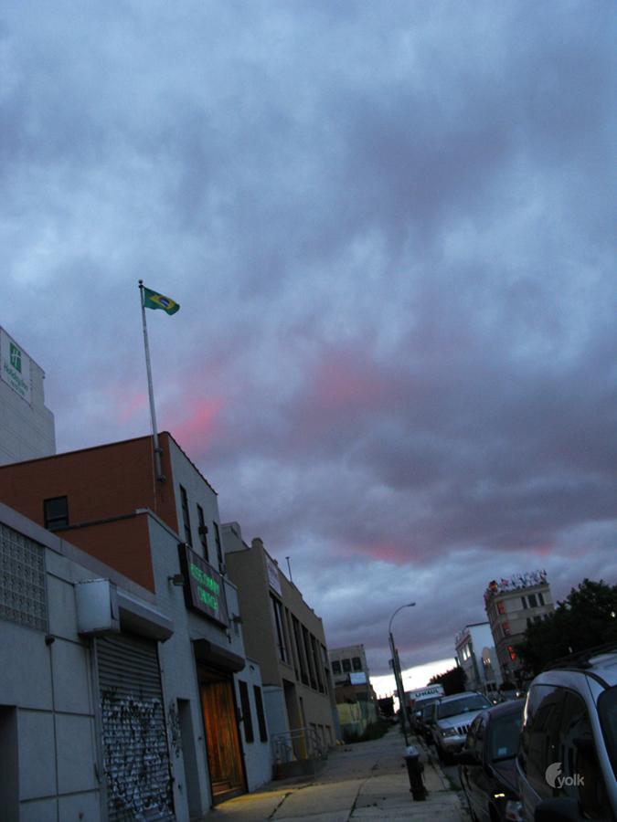 Pink Clouds. Long Island City, NY