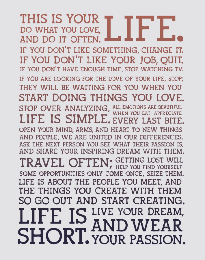this is your life how to find your purpose and do what you love - Do What You Love How To Find What You Love To Do