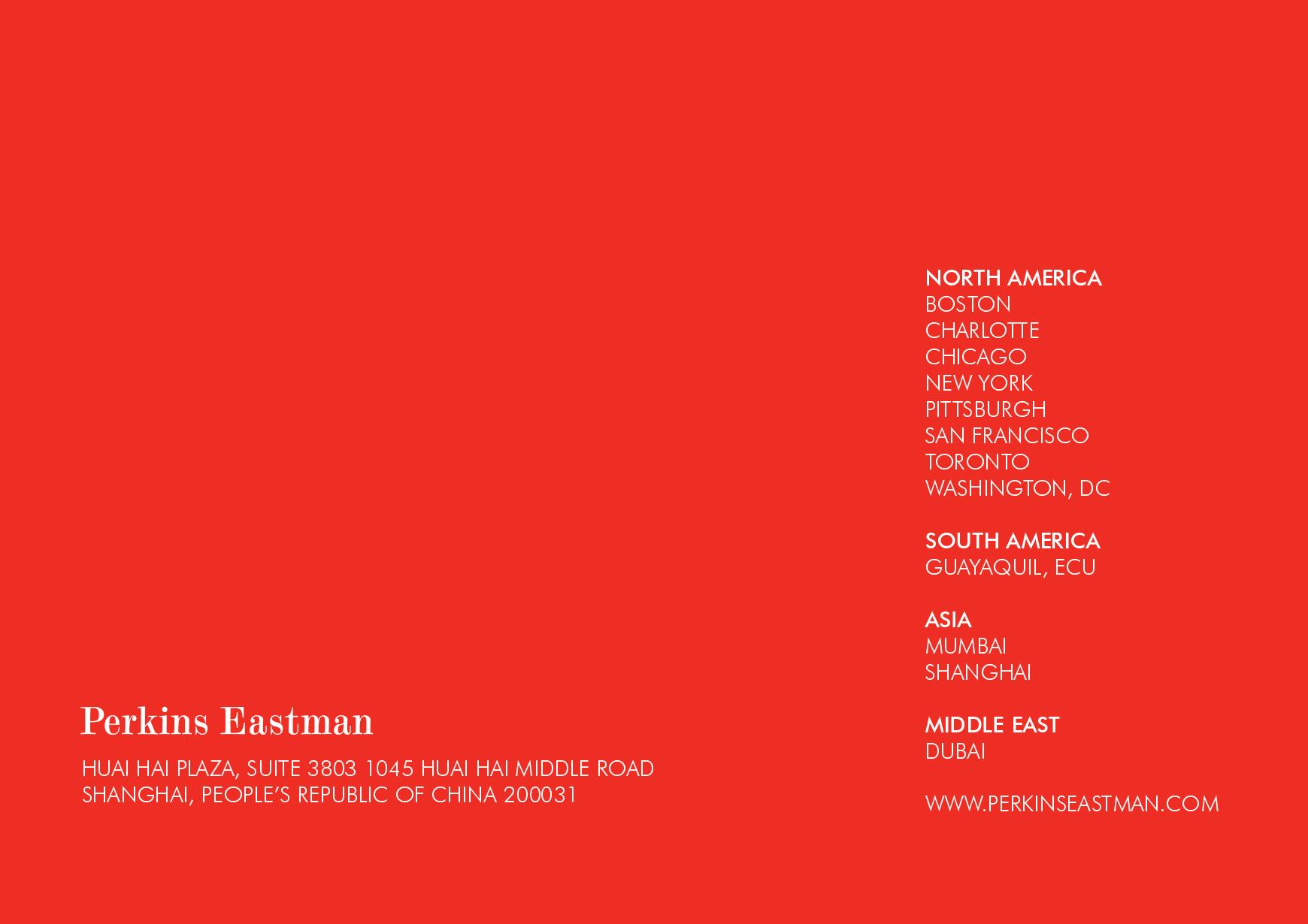 LUNAR NEW YEAR CARD 2014 | PERKINS EASTMAN ARCHITECTS ·